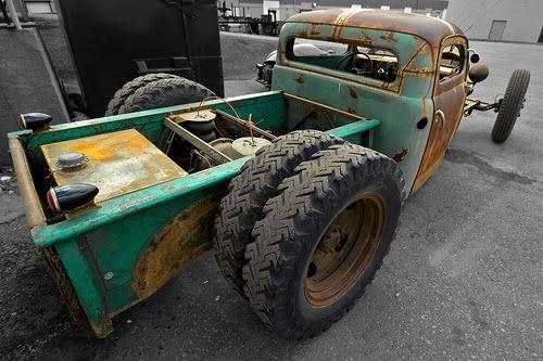 rat rod dually trucks | rat rod spots