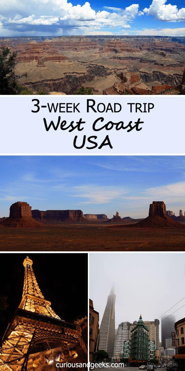 Our three-week West Coast USA Road Trip