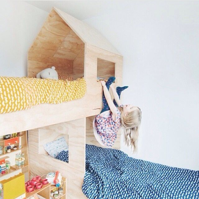 1000+ Ideas About L Shaped Bunk Beds On Pinterest