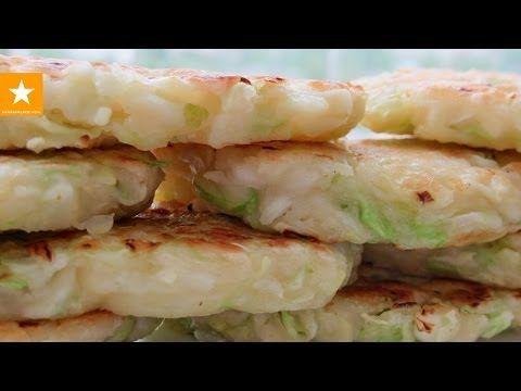 Диета! Оладьи из капусты от Мармеладной Лисицы. Рецепт без яиц и дрожжей - YouTube