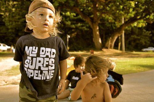 my children will be little surfer kids
