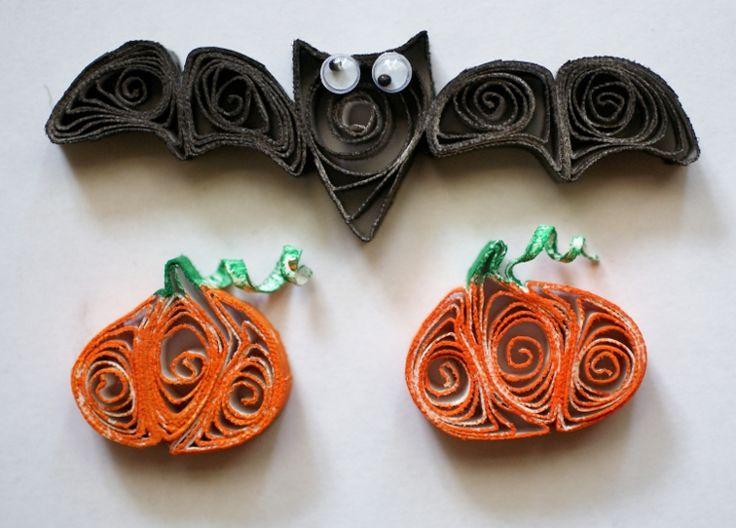 quilling art halloween