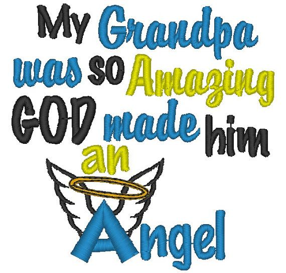 So Amazing: Instant Download: My Grandpa Was So Amazing God Made Him