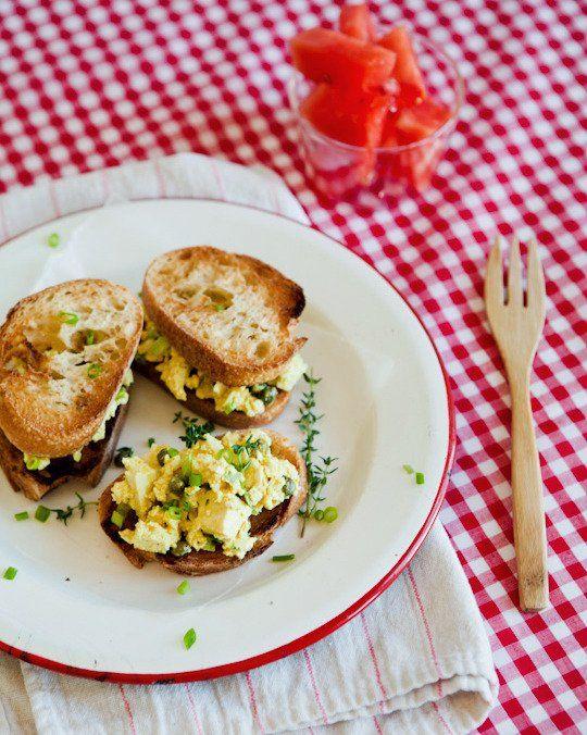 Vegan Recipe: Lemony Eggless Egg Salad — Recipes from The Kitchn