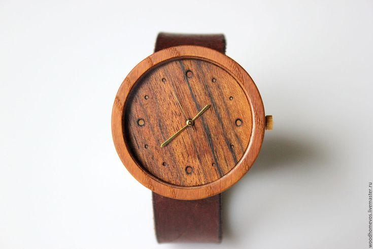 Купить Наручные часы из дерева (ясень) - комбинированный, ясень, золото, часы, часы наручные