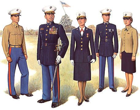 PlateIII Officer Dress Uniform - Uniforms of the United States Marine Corps - Wikipedia, the free encyclopedia