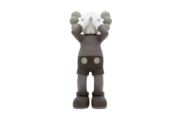 The KAWS 'At This Time' Bronze Companion Sculpture Is up for Auction