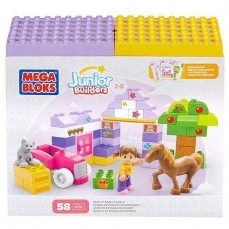 Mega Bloks 58 pièces.7 14.99$ Achetez-le: info@laboiteasurprisesdenicolas.ca