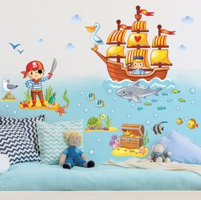 Great Wandtattoo Kinderzimmer Piraten Set x Jetzt bestellen unter https moebel