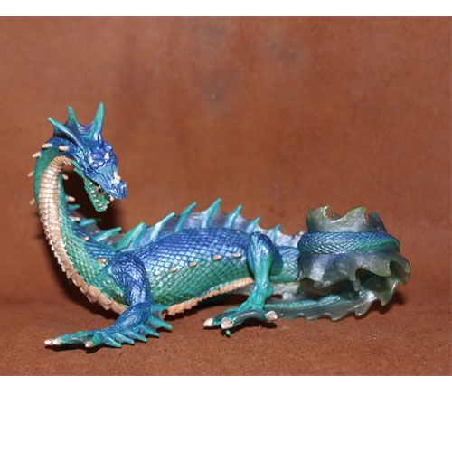 ==> [Free Shipping] Buy Best PVC figure Doll model toy The simulation model toy Myths and legends sea Dragon Blue Dragon Online with LOWEST Price | 32670221339