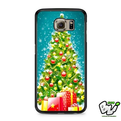 Green Tree Christmas Samsung Galaxy S7 Case