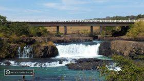 O Cachoeira da Fumaça é uma das mais lindas e desafiadoras quedas do Triângulo Mineiro. A galera radical adora! - Foto: Marte Paijo ...