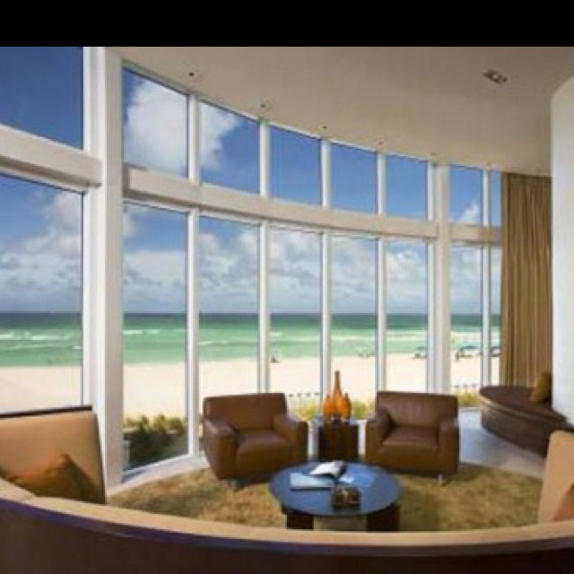 Sitting room on the beach with a perfect view.