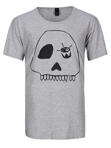 triple j - Grey Skull T- Shirt. NEW triple j t-shirt - grey with skulls. This range is exclusive to ABC Shop Online. $29.99