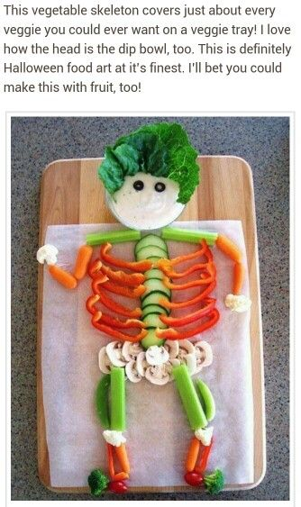 Salad Skeleton
