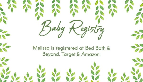 photo regarding Free Printable Baby Registry Cards titled Editable Cost-free Printable Little one Registry Playing cards Towards Nutritional supplement