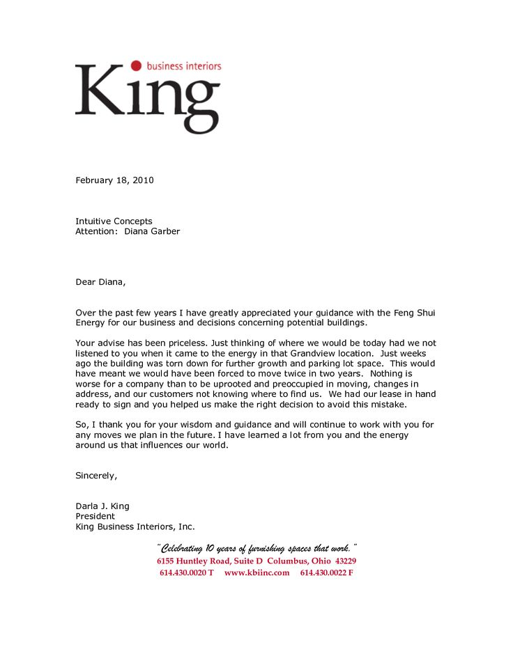 14 best letters images on Pinterest Business letter, Letter sample - Letters Of Reference Template