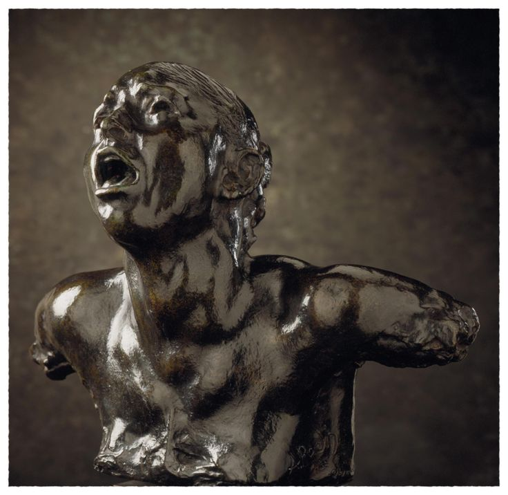 'The Cry' - Auguste Rodin (French, 1840 - 1917), The Los Angeles County Museum of Art