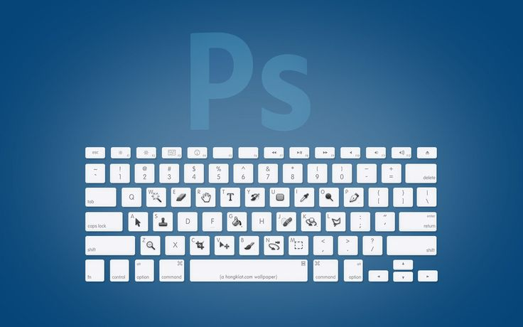 Adobe Photoshop keyboard
