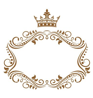 Elegant royal frame vector 789996 - by Seamartini on VectorStock®