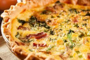 Cómo hacer una quiche de espinacas #receta #comida #alimentacion #huevos
