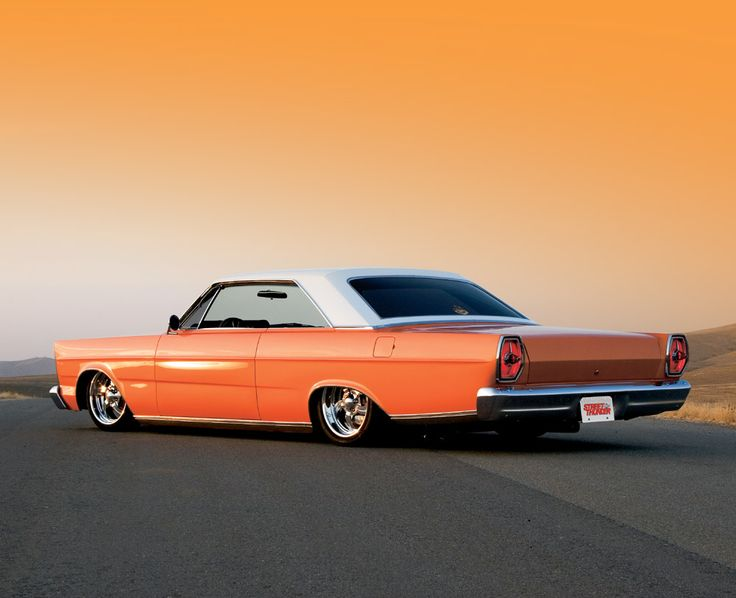1965 Ford Galaxie. I don't do repins very often, but this is just stunning beyond...uh, no words.
