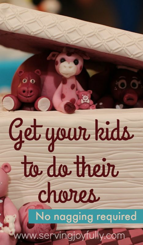 Awesome! This mom shares how she works with her children and gets them to do their chores without complaining. No nagging required! Great ideas here-- #2 is so important!