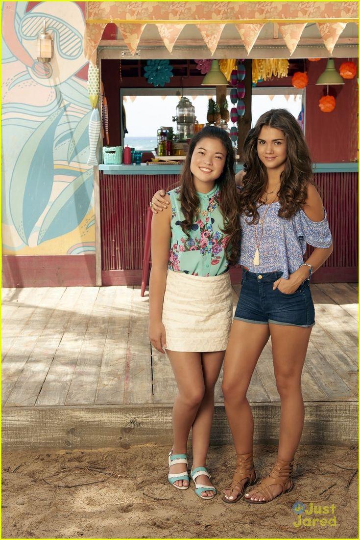 Piper Curda (Alyssa) and Maia Mitchell (McKenzie/Mack) #TeenBeach2