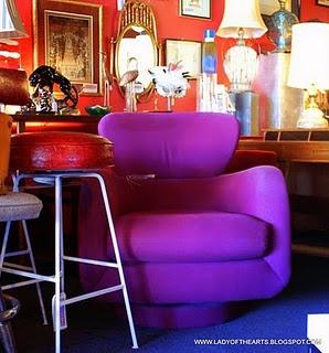Vegas Funk!  Loving the purple.