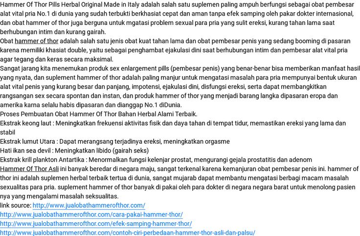 'Hammer Of Thor Asli' by hammer of thor | Readymag