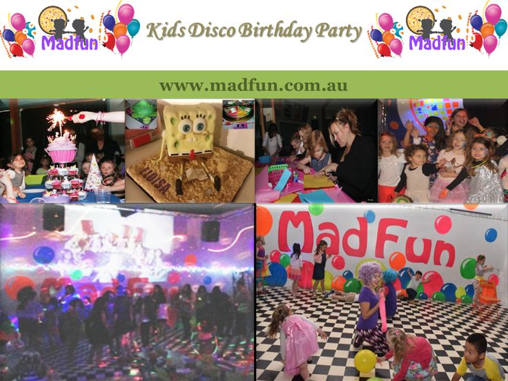 Madfun Organize Kids Disco Birthday Party In Melbourne Australia - Children's birthday parties melbourne