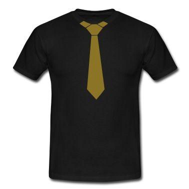 Tie – Slips T-skjorte | Spreadshirt | ID: 6756433
