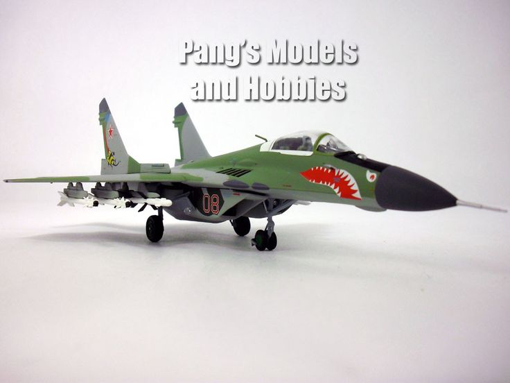 Mig-29 - Russian Air Force - 1/72 Scale diecast model by JC Wings