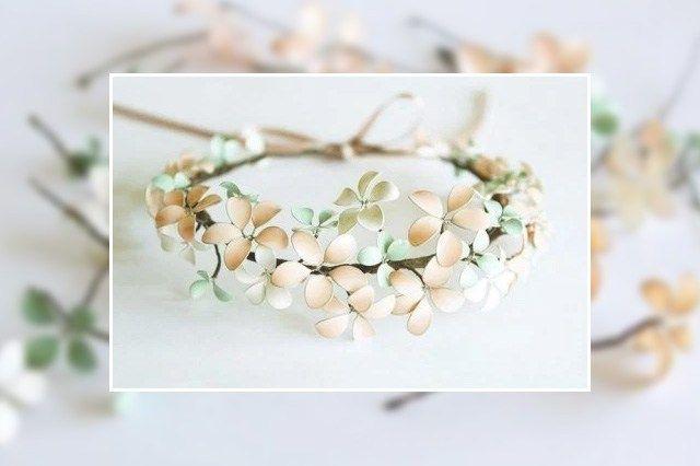 Λουλούδια με σύρμα και βερνίκι νυχιών