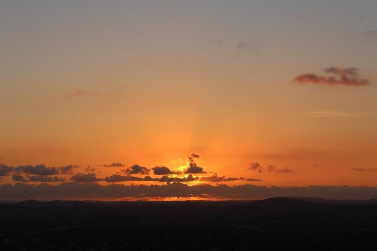 Mt Cootha Sunrise