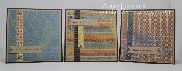 Gothdove Designs - Alison Barclay Stampin' Up! ® Australia : Stampin' Up! Australia - Father's Day Cards