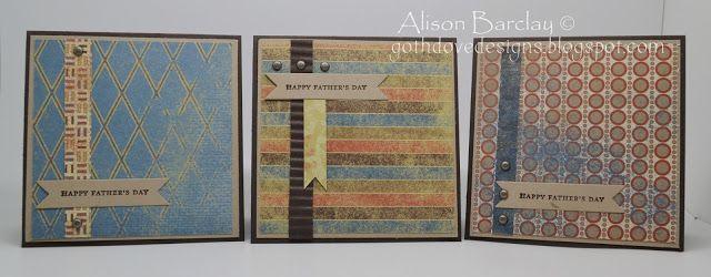 Gothdove Designs - Alison Barclay Stampin' Up! ® Australia : Stampin' Up! Australia - Father's Day Cards