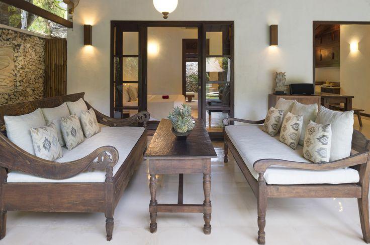 Villa 8 living room at Villa Kubu, Seminyak, Bali