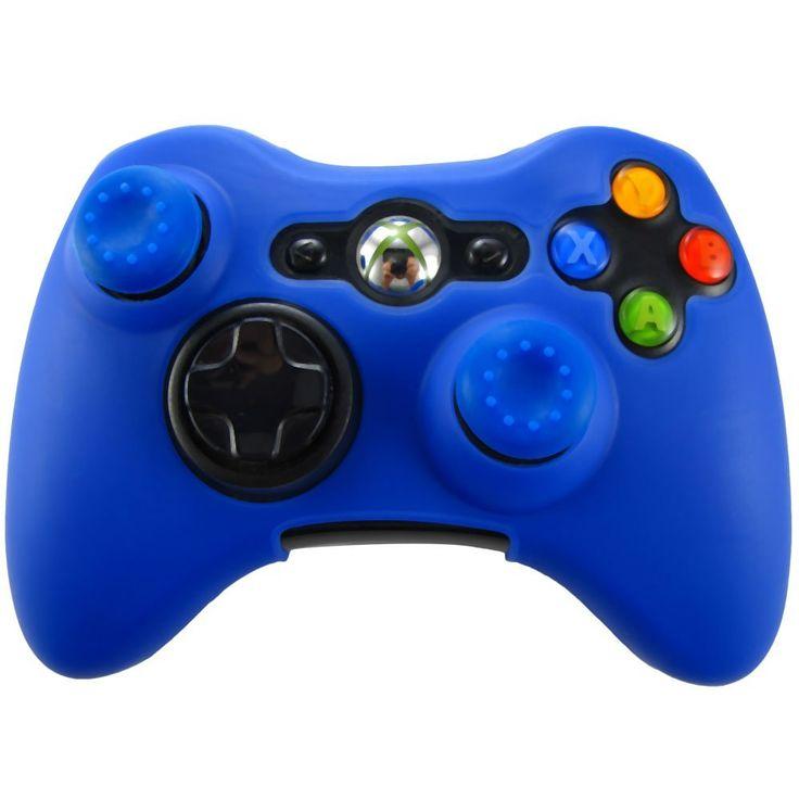$2.13 (Buy here: https://alitems.com/g/1e8d114494ebda23ff8b16525dc3e8/?i=5&ulp=https%3A%2F%2Fwww.aliexpress.com%2Fitem%2FBlue-Protective-Antislip-Silicone-Case-Skin-for-XBOX-360-XBOX-360-Slim-Controller%2F32421243950.html ) Dark Blue Protective Antislip Soft Silicone Case Skin +Thumb Stick Grips Caps for XBOX 360 / XBOX 360 Slim Controller for just $2.13