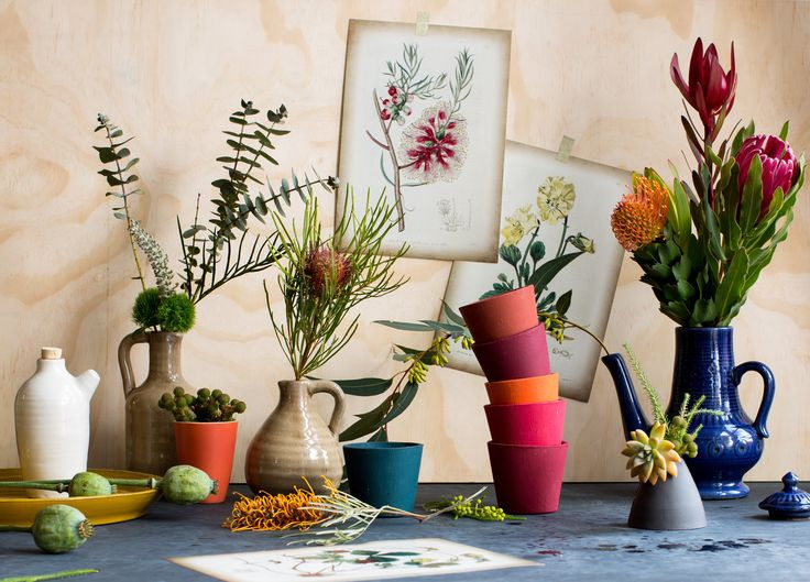 Commercial | Dara Tippapart  Flowers, floral, native Australian plants, still life, editorial, vase