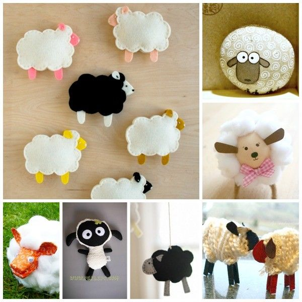 30 Cute Lamb & Sheep Crafts from Red Ted Art. So. Many. Sheep.
