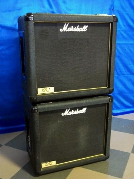 MARSHALL LEAD 1912 COPPIA CASSE 1993