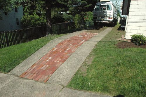 The 17 best images about concrete driveway options on for Pouring concrete driveway