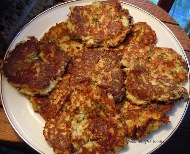 Gourmet Girl Cooks: Zucchini Patties (Gluten Free)