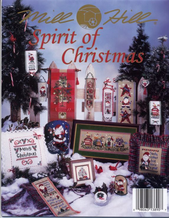 Mill Hill Spirit of Christmas -- Large selection of cross stitch charts