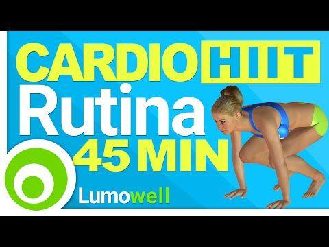 45 Minutos de cardio al estilo HIIT ¿Te animas a derretir la grasa? | Adelgazar - Bajar de Peso