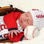 Free Crochet Baseball Hat Pattern! Now to learn to crochet, so I could make this for my new nephew!
