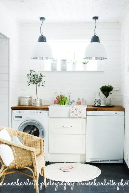 Compact kitchen - sink with washer and dishwasher