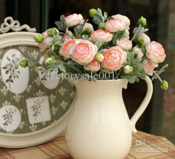 380 best artificial flower arranging images on pinterest fake wholesale rosette fabric buy fake arrangment silk victoria rose flower decoration artificial flowers bouquets 20pcs mightylinksfo