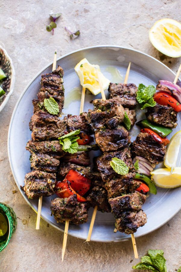 Hey, hey, hi! Happy Saturday! The post Mediterranean Grilled Lamb Kebabs. appeared first on Half Baked Harvest. :: Food